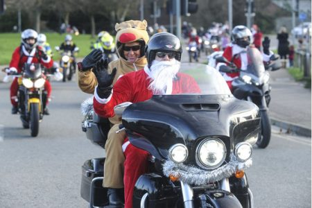 The Cambridge Bikers Toy Run